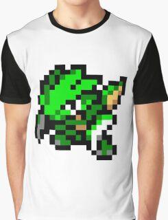 Pokemon 8-Bit Pixel Scyther 123 Graphic T-Shirt