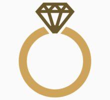 Diamond ring One Piece - Short Sleeve