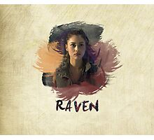 Raven - The 100 -  Brush Photographic Print