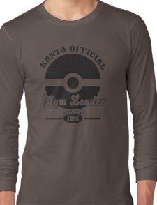 Pokemon Kanto Official Gym Leader Long Sleeve T-Shirt
