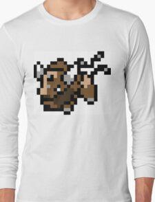 Pokemon 8-Bit Pixel Taurus 128 Long Sleeve T-Shirt