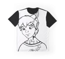 Punk'd Peter Pan Graphic T-Shirt