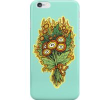 Fire Flower Bouquet iPhone Case/Skin