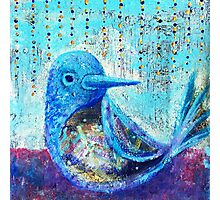 Bluebird of Happiness - Inner Power Painting by Magic with Mellie Photographic Print