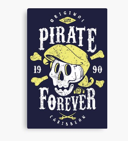 Pirate Forever Canvas Print