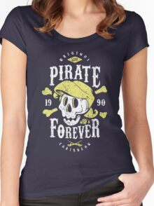 Pirate Forever Women's Fitted Scoop T-Shirt