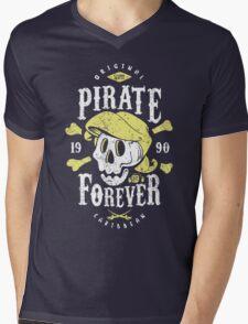 Pirate Forever Mens V-Neck T-Shirt