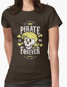 Pirate Forever Womens Fitted T-Shirt