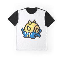 Pokemon 8-Bit Pixel Omastar 139 Graphic T-Shirt