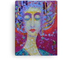 Woman in Love  Canvas Print