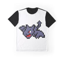 Pokemon 8-Bit Pixel Aerodactyl 142 Graphic T-Shirt