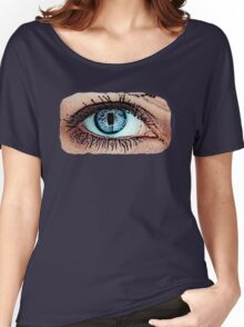 Great Eye Pop Art, Graphic! Women's Relaxed Fit T-Shirt