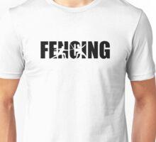 Fencing Unisex T-Shirt
