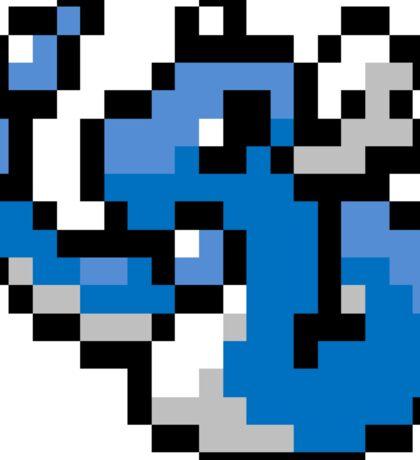 Pokemon 8-Bit Pixel Dragonair 148 Sticker