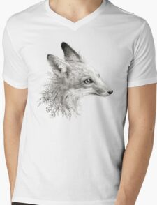 A Young Fox Mens V-Neck T-Shirt