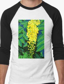 Golden Shower Tree Men's Baseball ¾ T-Shirt