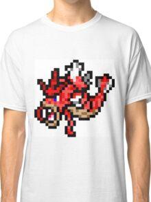 Pokemon 8-Bit Pixel Red Gyarados 130 Classic T-Shirt