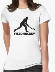 Field hockey Womens Fitted T-Shirt
