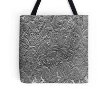 Black & White Leaves Tote Bag