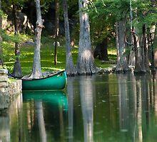 Blue Canoe by Doug Graybeal