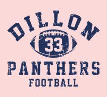 Dillon Football One Piece - Short Sleeve