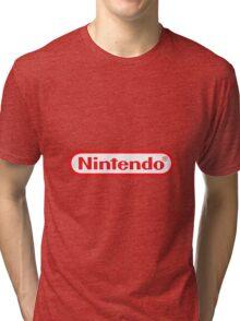 Nintendo Logo Tri-blend T-Shirt
