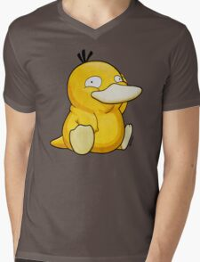 psyduck Mens V-Neck T-Shirt