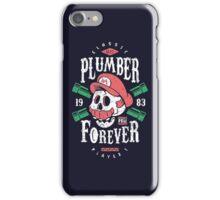Plumber Forever iPhone Case/Skin