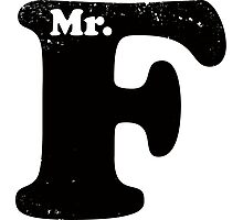 Mr. F Photographic Print