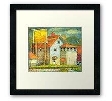 A House that is not a Home Framed Print