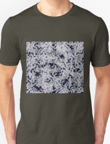 Smokey Blue with white Lace Unisex T-Shirt