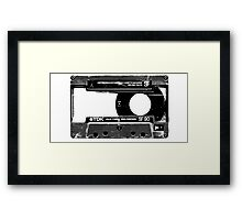 Old Cassette Framed Print