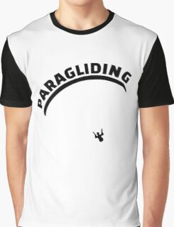Paragliding Graphic T-Shirt
