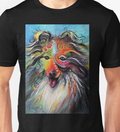 Boho Sheltie Unisex T-Shirt
