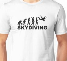 Evolution skydiving Unisex T-Shirt