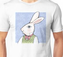 A Well-Dressed White Rabbit Unisex T-Shirt