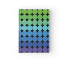 Rainbow dots Hardcover Journal