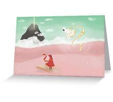 Journey ps3 Greeting Card