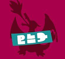 Splatoon Splatfest - Team Pokémon Red (Charizard) by ciccioDeeamci