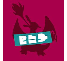 Splatoon Splatfest - Team Pokémon Red (Charizard) Photographic Print