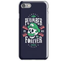 Plumber Forever Player 2 iPhone Case/Skin