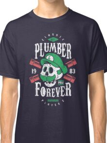 Plumber Forever Player 2 Classic T-Shirt