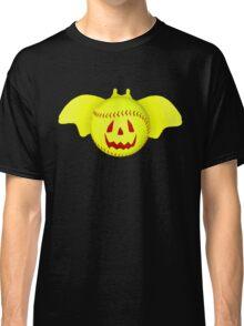 Novelty Halloween Softball Bat Mashup Classic T-Shirt