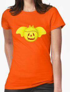 Novelty Halloween Softball Bat Mashup Womens Fitted T-Shirt
