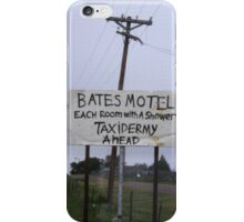 Remember The Movie Psyco? iPhone Case/Skin