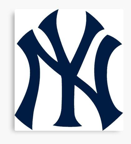 Yankees Logo Canvas Print