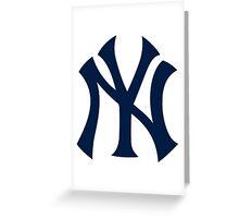 Yankees Logo Greeting Card