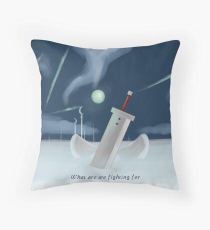 Cloud Strife - Dissidia  Throw Pillow