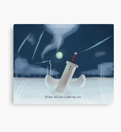 Cloud Strife - Dissidia  Canvas Print