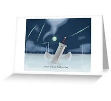 Cloud Strife - Dissidia  Greeting Card